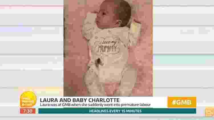A pequena Charlotte - Reprodução/Twitter - Reprodução/Twitter
