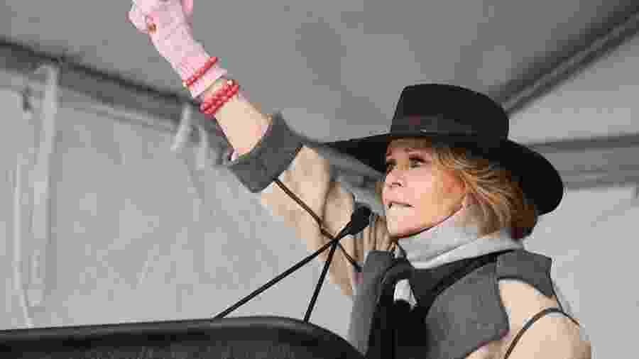 A atriz Jane Fonda - Divulgação