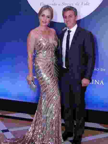 Angélica e Luciano Huck  - Wallace Barbosa/AgNews