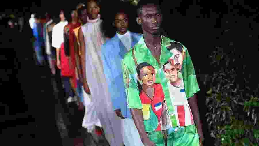 Desfile de Pyer Moss - AFP