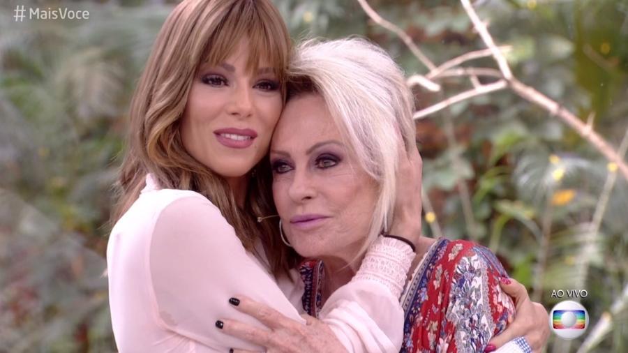 Ana Furtado e Ana Maria - Reprodução/Globo