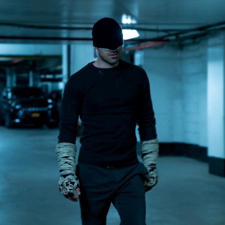 Charlie Cox é o Demolidor na terceira temporada da série da Marvel na Netflix - David Lee/Netflix