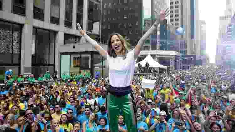 """Ana Furtado apresentou o """"BR Day New York"""" em 2018 - Luiz C. Ribeiro/Globo - Luiz C. Ribeiro/Globo"""