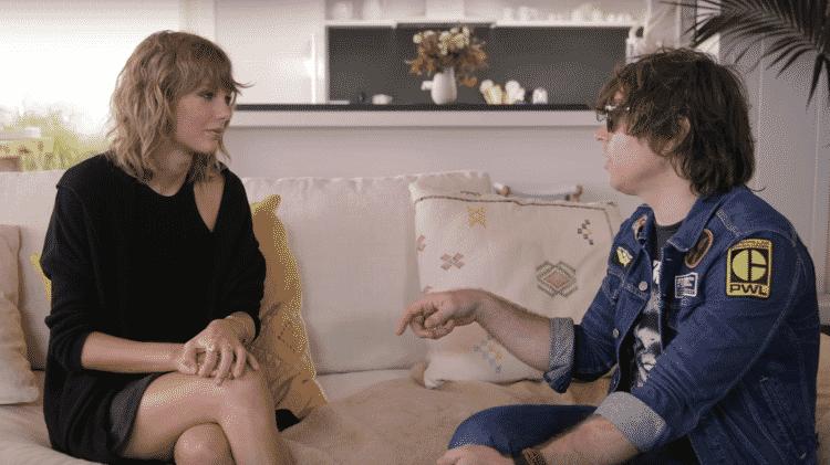 Ryan Adams entrevista Taylor Swift - Reprodução - Reprodução