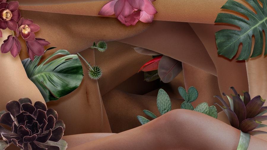 Nada de pílula, papel higiênico e absorvente descartável: ginecologia natural investe no conhecimento da mulher sobre o próprio corpo e no uso de plantas e óleos essenciais - Arte/UOL