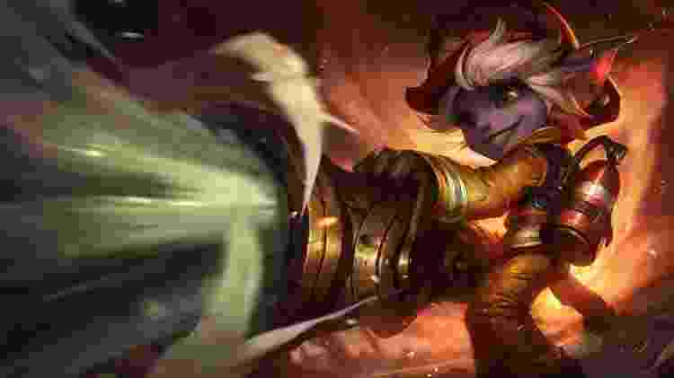 League of Legends - Tristana - Reprodução - Reprodução