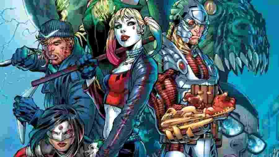 Ninguém está seguro na nova versão em quadrinhos de Esquadrão Suicida! Ao menos é isso que promete o escritor...  - Reprodução