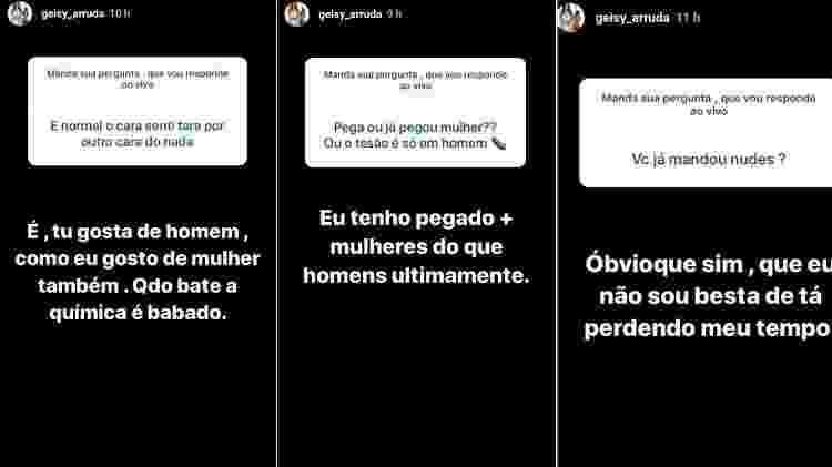 """Geisy Arruda diz que está """"pegando mais mulheres"""" - Reprodução/Instagram"""