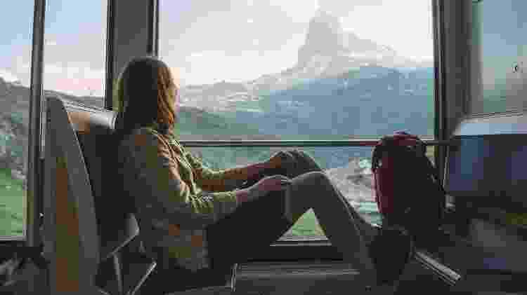 Viagem em trem - iStock - iStock