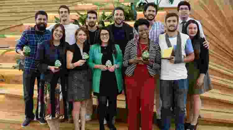 Maíra da Costa (de vermelho) participou do programa Empreender com Impacto com a Free Soul Food - Divulgação/ Free Soul Food