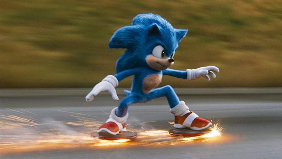 """""""Sonic, o filme"""" foi lançado em fevereiro de 2020 - Divulgação"""
