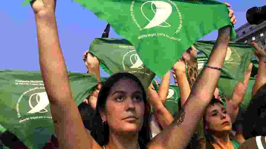Projeto que legaliza aborto na Argentina é votado pela Câmara nesta quinta - Luciana Taddeo