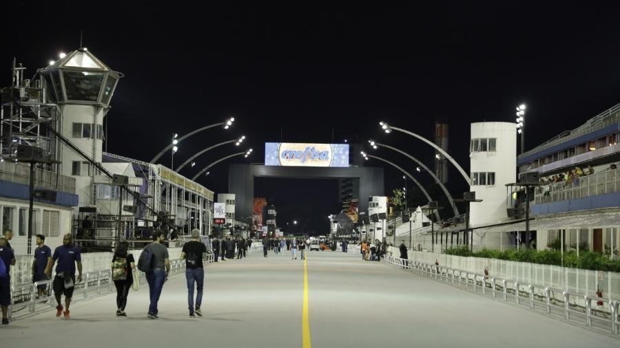 Desfiles no Sambódromo do Anhembi, em São Paulo, tem ordem definida; data segue em aberto - Simon Plestenjak/UOL