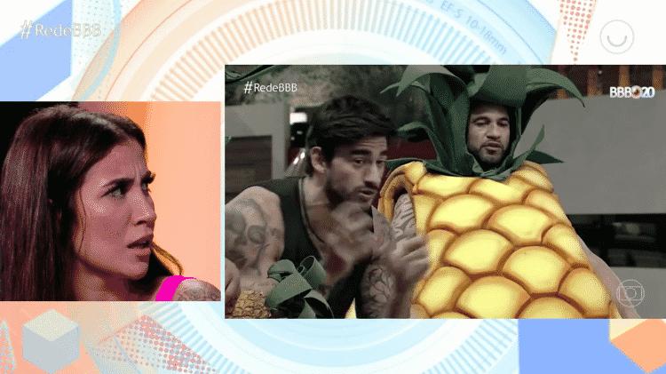 Bianca e brothers - Reprodução/GloboPlay - Reprodução/GloboPlay