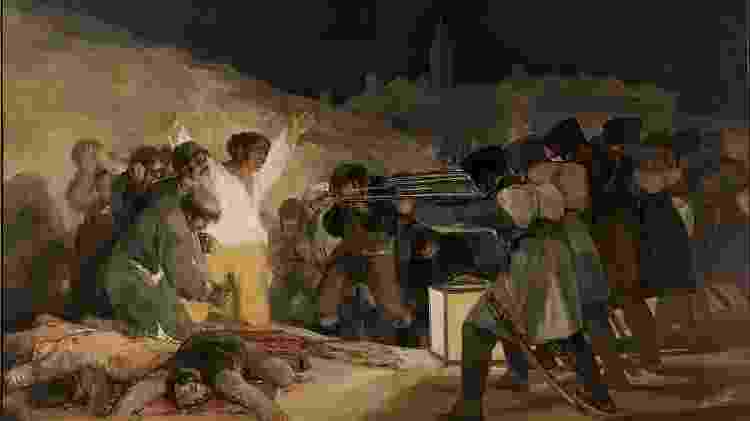 """""""Três de maio de 1808 em Madrid"""", de Francisco de Goya - Divulgação - Divulgação"""