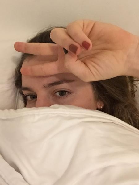Alice Wegmann alfineta Bolsonaro ao relatar sintomas da doença - Reprodução/Instagram