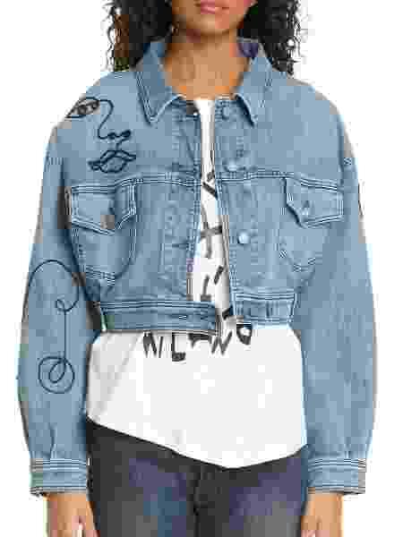 Jaqueta jeans bordada - Divulgação - Divulgação
