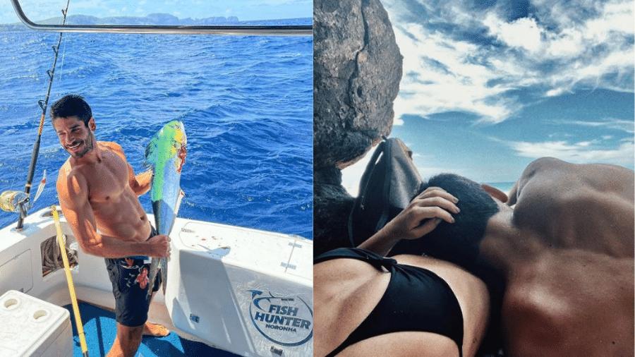 Fernanda Paes Leme manteve a discrição ao postar primeira foto com namorado, Victor Sampaio - Reprodução/Instagram