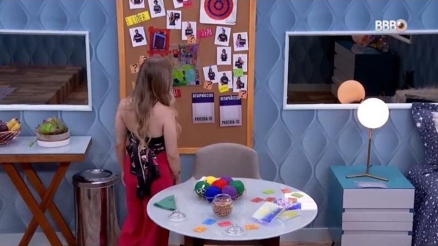 BBB 21: Carla dá adjetivos para brothers na casa - Reprodução/ Globoplay