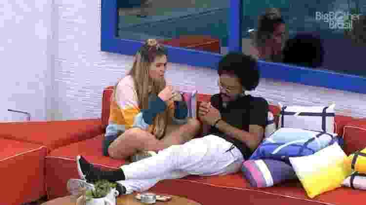 BBB 21: Viih Tube e João Luiz comentam sobre votos em Juliette no último paredão - Reprodução/Globoplay - Reprodução/Globoplay