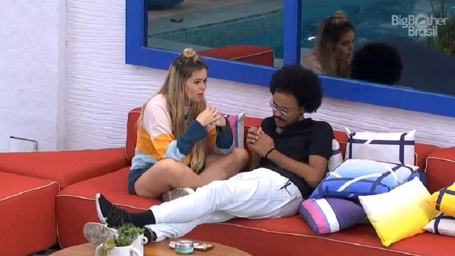 BBB 21: Viih Tube e João Luiz comentam sobre votos em Juliette no último paredão - Reprodução/Globoplay