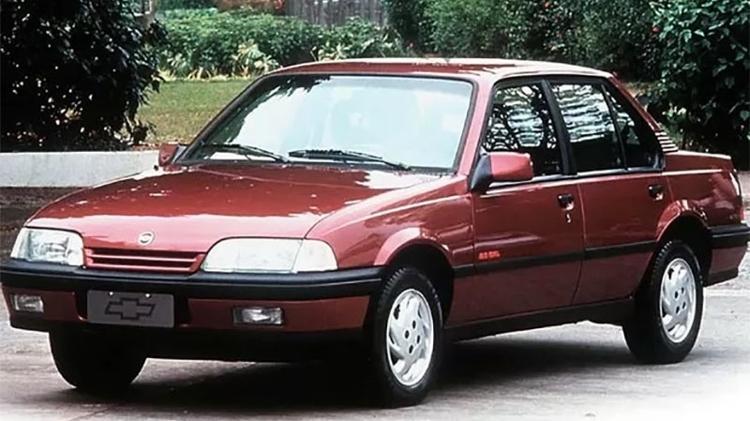 Chevrolet Monza - Divulgação - Divulgação