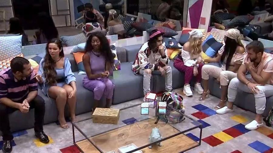 BBB 21: Fiuk, Gilberto e Viih Tube foram o paredão da vez no reality show - Reprodução/Globo