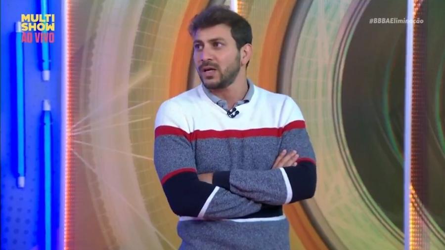 BBB 21: Caio conta que queria ver Viih Tube no paredão - Reprodução/ Globoplay