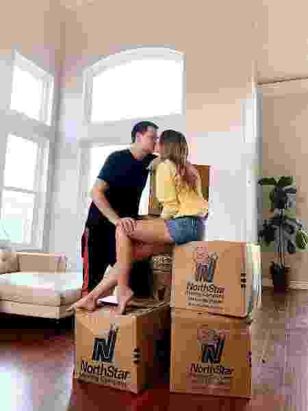 Marina e o marido Ben - Reprodução/Instagram - Reprodução/Instagram