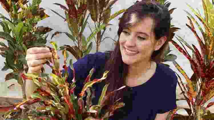 Fernanda também indica a planta para compor espaços externos - Arquivo pessoal - Arquivo pessoal
