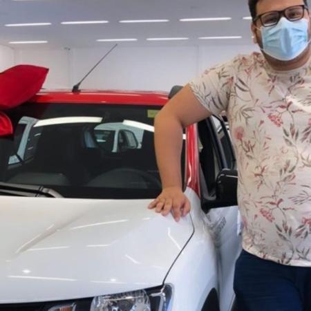 Victor Hugo, do BBB20, compra seu primeiro carro - Reprodução/Instagram