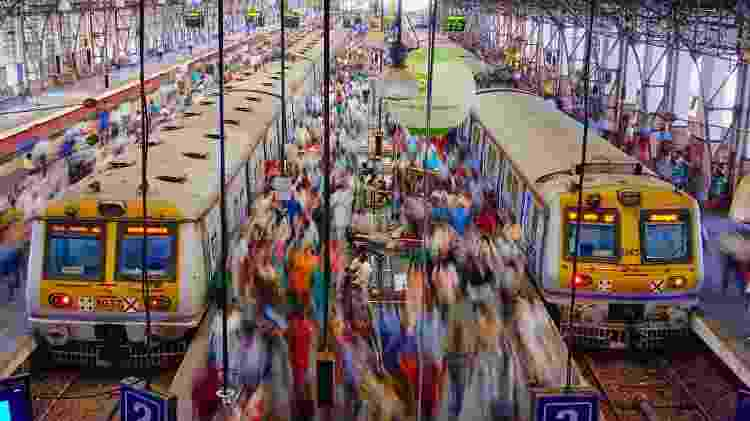 Mumbai, na Índia: trânsito na cidade é considerado estressante - Getty Images/iStockphoto - Getty Images/iStockphoto