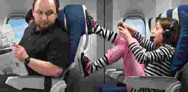 Muitos passageiros se irritam com crianças em aviões; e você? - Getty Images