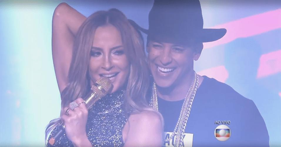 17.dez.2015 - Claudia Leitte e Daddy Yankee lançam música