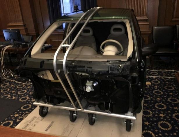 Cabine de carro da GM será usada como evidência no julgamento sobre ignições - District Court for the Southern District of New York/Reuters