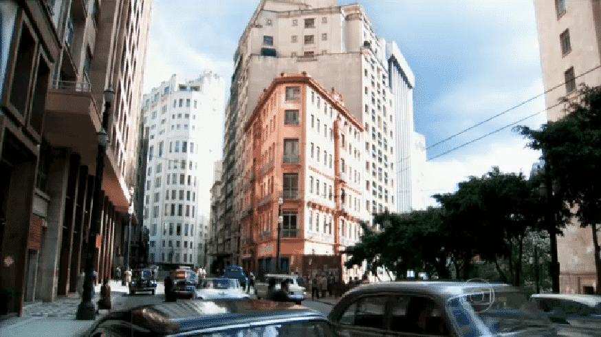 16.jan.2015 - São Paulo dos anos 1940 - Reprodução/TV Globo