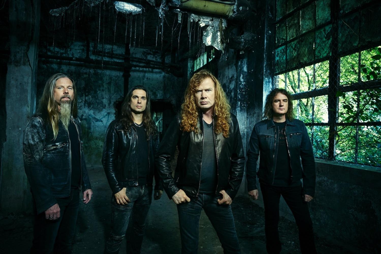 Resultado de imagem para Dave Mustaine confirma novo álbum do Megadeth para 2019