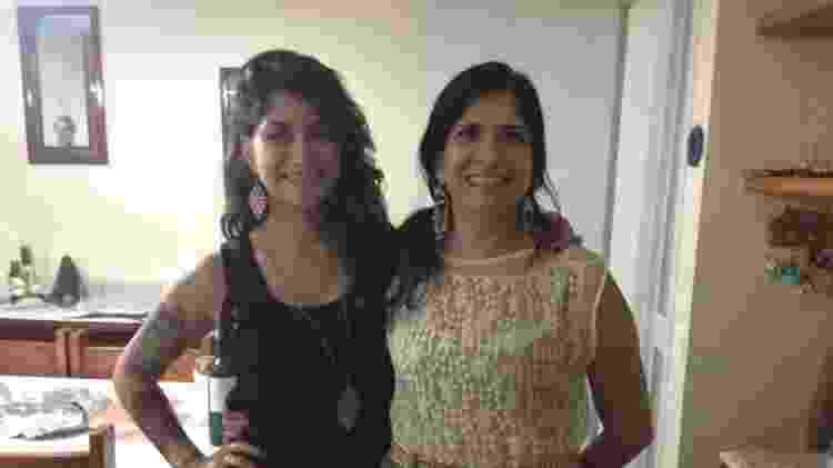 Márcia Leal, 51, com a filha Raquel, 23, estudante de publicidade - Arquivo pessoal - Arquivo pessoal