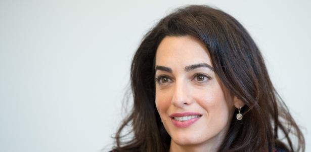 A advogada de direitos humanos internacionais Amal Clooney, mulher de George Clooney - AFP
