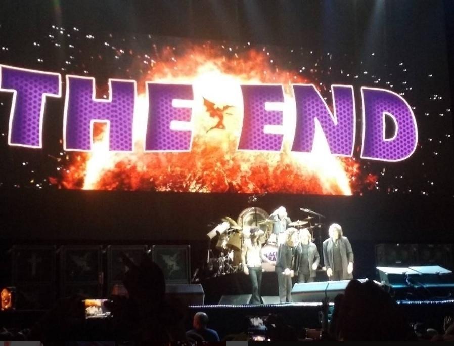 28.nov.2016 - A banda Black Sabbath se apresenta em Porto Alegre. O show faz parte da turnê