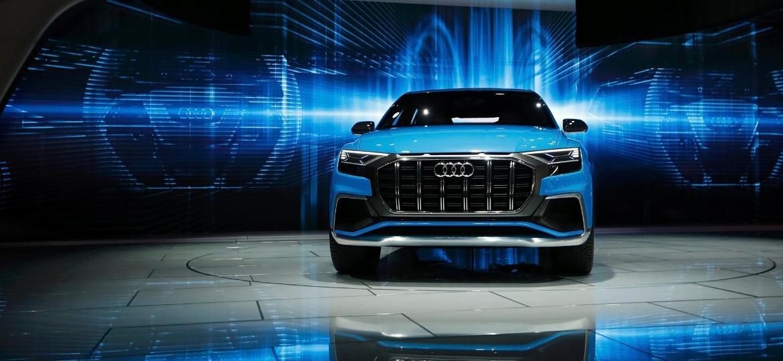 Carro real será bastante fiel ao conceito mostrado no Salão de Detroit 2017 -- base é a mesma do Urus - Mark Blinch/Reuters