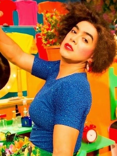 """Lindsay Paulino como a doméstica Rose em """"Treme Treme""""  - Divulgação"""