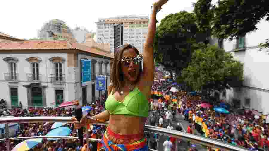 Anitta comanda o Bloco das Poderosas no Rio - Marcelo de Jesus / UOL