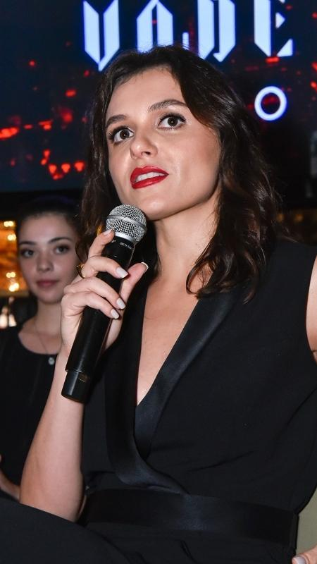 """Mônica Iozzi durante evento de lançamento da série """"Vade Retro"""", em São Paulo - Caio Duran/Brazil News"""