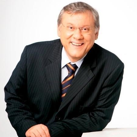 O apresentador Milton Neves - Reprodução/Facebook/miltonneves
