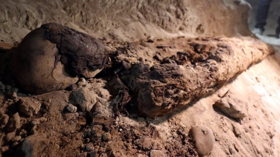 Múmia descoberta no Egito - Mohamed Abd El Ghany/Reuters