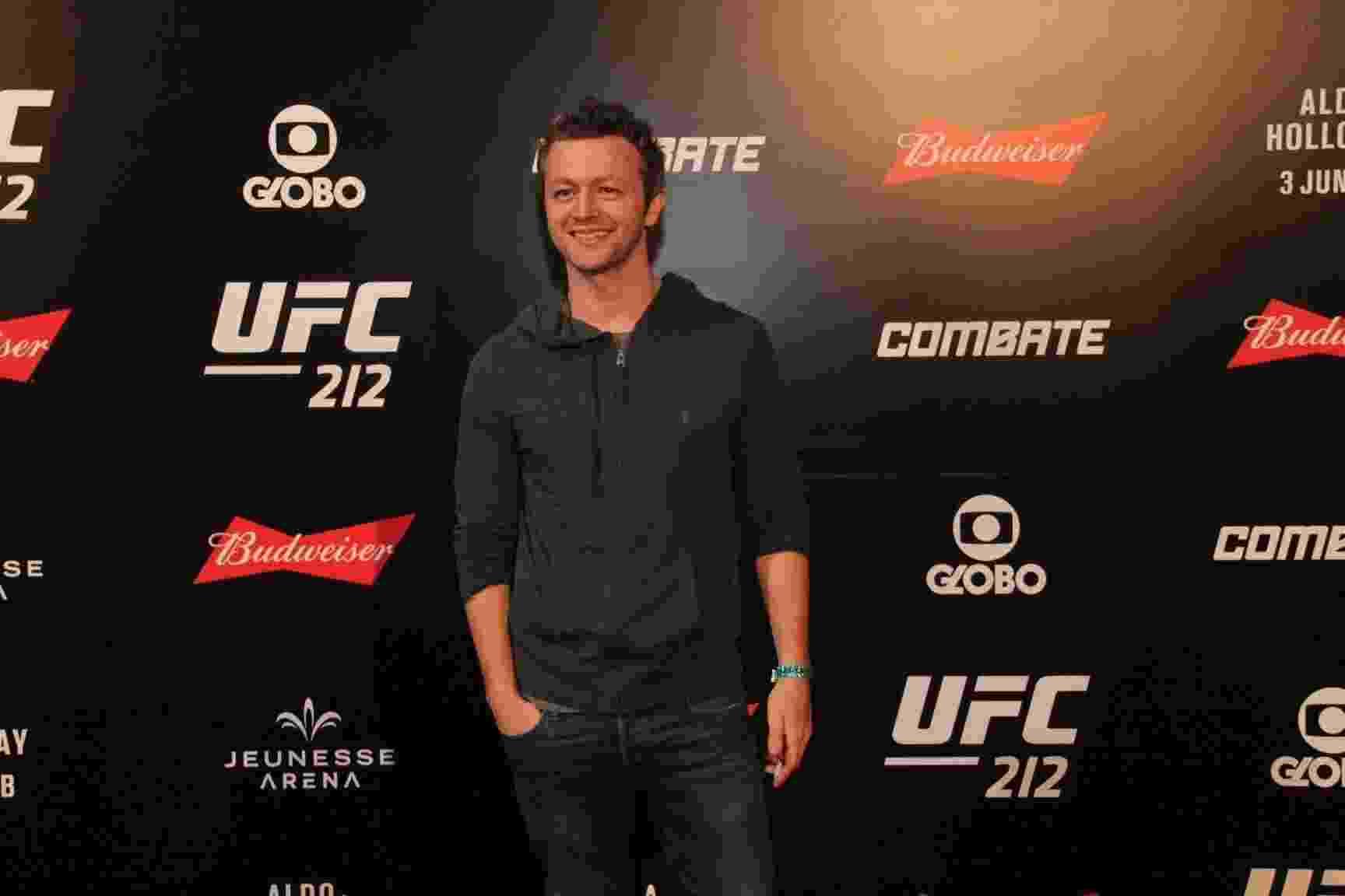 Lucas Lima no UFC 212 que aconteceu na Jeunesse Arena na Barra da Tijuca, no Rio  - AgNews