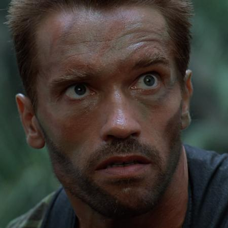 """Arnold Schwarzenegger em """"Predador"""", de 1987 - Reprodução"""
