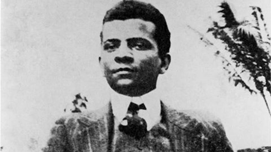 O escritor Lima Barreto - Reprodução