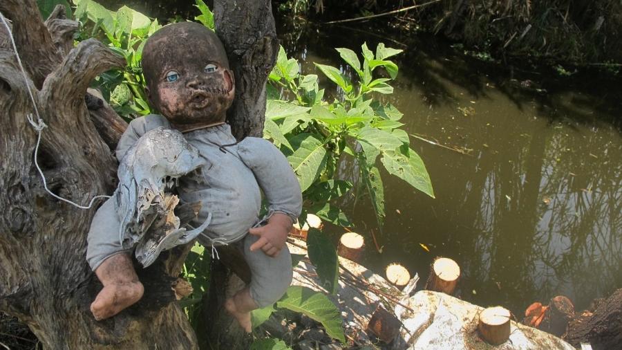 De tão assustadora, a Ilha das Bonecas virou atração turística na Cidade do México - Getty Images/iStockphoto